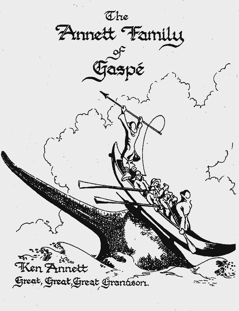 Title Page Annets of Gaspe